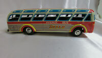 "Vintage Daiya ""Express Avenue Bus DREAM 2007 10314"" Tin Friction Toy From Japan"
