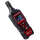 Temperature Humidity Meter, Digital Psychrometer Thermo-Hygrometer, Wet Bulb and