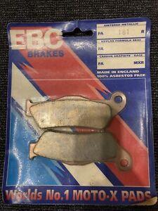 Ebc Brake Pads fa181 ktm mx sx exc sxf  xc sc lc4 mxc sm 125 200 250 300 350 450