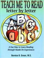 Teach Me to Read: Letter by Letter : A Fun Way to Learn Reading Through Hands-On