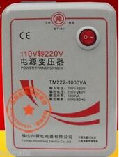 1000w Watt Voltage Converter Transformer 110V to 220 Volt