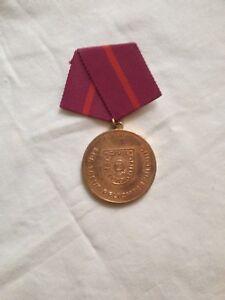 Auszeichn.,Orden,f.treue PflichterfüllungZivilverteidigung,Bronze,m.Spange,DDR