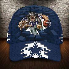 Dallas Cowboys Classic 3D Cap Nfl Football Hat Fan Apparel 3D Cap.