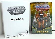 MOTUC, Wun-Dar, Masters of the Universe Classics, MOC, figure, sealed, MISB