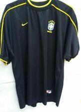 Nike Brazil Brasil Soccer Jersey T-Shirt Black Size GG (XL)