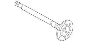 Genuine Nissan Rear Axle Shaft 38164-VE060