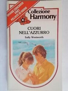 Cuori nell'azzurroWentworth sallyharmony romanzi rosa storici amore c nuovo 95