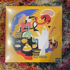 Mac Miller Faces 2LP Vinyl Sealed Limited Edition Black