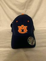 Auburn Tigers NCAA Zephyr Blue One Size Stretch Fit Hat Cap New