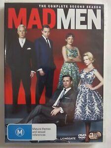 MAD MEN Season 2 DVD (3 disc set) TV series drama