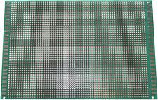 Lochraster PCB FR4 Durchkontaktiert 12x18cm prototype doppelseitig verzinnt 2,54