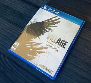 Resident Evil 8 Village PS4 PlayStation 4 Plastic Case ONLY (NO GAME DSIC!)