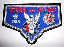 National Eagle Scout Association NESA 2015 OA NOAC Member Bullion Patch