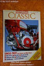 Motorrad Classic 5/93 Moto Guzzi Falcone NSU 501 TS BSA