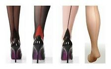 SEAMED TIGHTS WITH CUBAN HEEL FROM SCARLET BURLESQUE RETRO 40'S 50'S VINTAGE