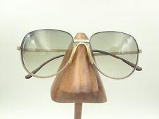Vintage Avanti Rainbow Toby-Flex 001 Gold Metal Aviator Sunglasses Frames Italy