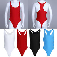 Herren Männer Body Overall Einteiler Stringbody Bodysuit Mankini Unterwäsche