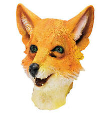 Mr Fox Rubber Mask Fancy Dress Costume Outfit Prop