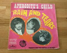 "Aphrodite's Child Rain And Tears 1968 French 7"" Single Mercury Pop Prog Rock"