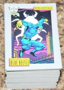 . DC Comics Cosmic Cards Series 1 by Impel in 1991 / 1992. 180 card base. Mint