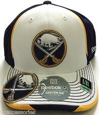 NHL Buffalo Sabre Reebok Structured Curved Brim Hockey Cap Hat NEW!