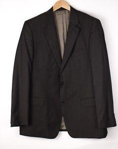 HUGO BOSS Men Burton/Reno Wool Formal Blazer Jacket Size 56 ARZ408
