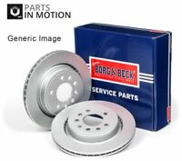 2x Brake Discs (Pair) Vented fits BMW Z4 E89 3.0 Rear 09 to 11 300mm Set B&B New