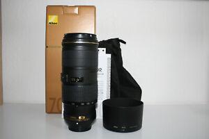 Nikon AF-S Nikkor 70-200 f4 G ED Zoomobjektiv  1 Jahr Gewährleistung