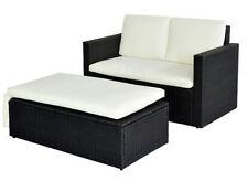 Garten-Tische & Bank-Sets mit bis zu 4 Sitzplätzen aus Polyrattan