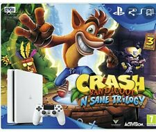 CONSOLE SONY PLAYSTATION4 PS4 500GB BIANCA + CRASH BANDICOOT TRILOGY