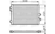 VALEO Condensador, aire acondicionado PORSCHE BOXSTER 911 CAYMAN CAYENNE 814167