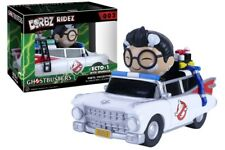 GHOSTBUSTERS - RIDEZ VINYL VEHICLE DORBZ ECTO-1 & SPENGLER - FUNKO NEW