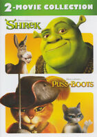 SHREK / PUSS IN BOOTS (2-MOVIE COLLECTION) (DVD)