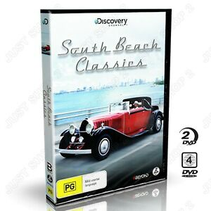 South Beach Classics Cars DVD : Discovery Channel  :  Brand New (RARE)