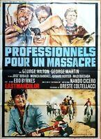 Plakat Kino Western Profi Für Un Massacre - 120 X 160 CM