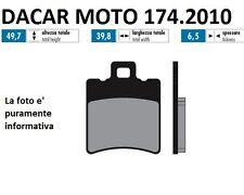 174.2010 PLAQUETTE DE FREIN SINTERED POLINI APRILIA SR 50 LC STEALTH/RACING/