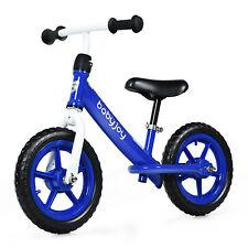 Kids Balance Bike Carbon Steel Frame Bikes Adjustable Seat Running Training