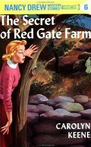 The Secret of Red Gate Farm [Nancy Drew Mystery Stories, Book 6] , Hardcover , K
