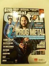 Total Guitar Magazine & CD 226 Apr 2012 Prog Metal Damien rice blue oyster cult