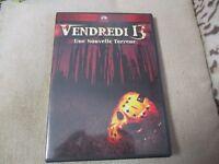 """RARE! DVD """"VENDREDI 13, CHAPITRE 5 V : UNE NOUVELLE TERREUR"""" horreur"""