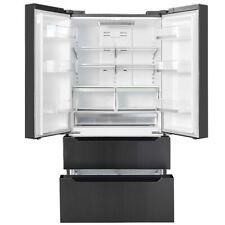 SMAD 22.5 Cu Ft Counter-Depth 4-Door French Door Refrigerator Fridge Freezer