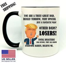 Other Dads?, Losers, Very Special Dad, Birthday, Christmas Gift, Black Mug 11 oz