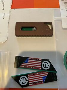 Tactical Keychains Tukk XL (FDE) Tan & Green