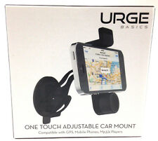 New URGE BASICS One Touch Adjustable Car Mount for Mobile Phone GPS MP3-4 Player