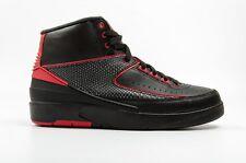 Air Jordan 2 Retro 834274 001 Black Red Men Size 12 New!
