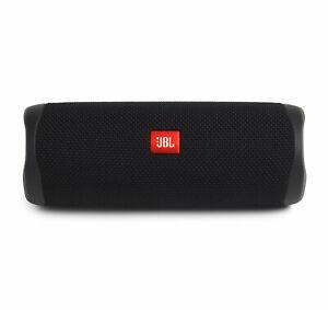 JBL Flip 5 Black Portable Bluetooth Speaker (Open Box)