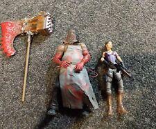 resident evil 5 action figure bundle the executioner sheeva