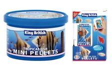King British Tropical Fish Mini Pellets   Fish