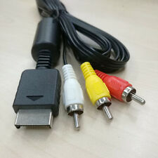 AV To RCA Cable For PlayStation PS2-PS3
