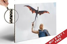 GAME OF THRONES KHALEESI A4 Poster Gift for Legend TV Series Fan HOME WALL DECOR